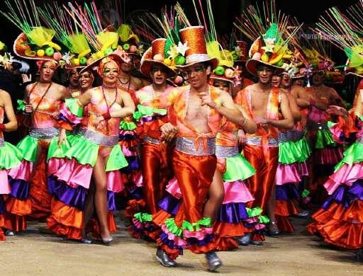 carnaval en sitges